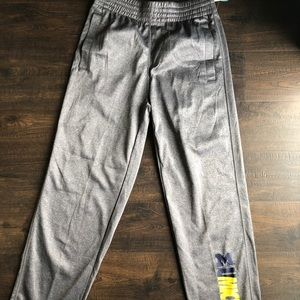 Other - NEW WITH TAGS size Medium Michigan track pants